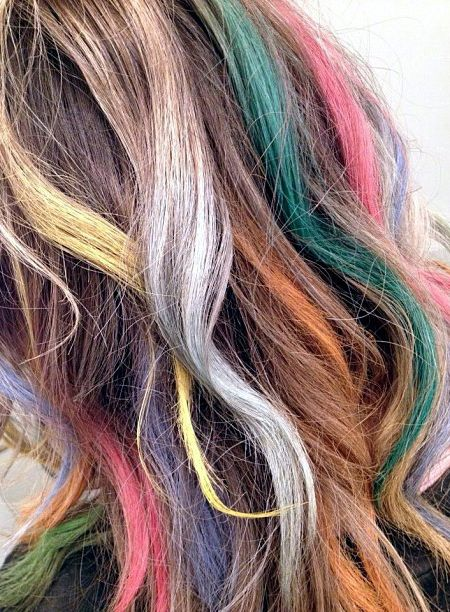 1000 Images About Hair Chalk