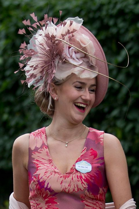 Image result for Royal Ascot 2017 fashion: from edible hats to equestrian embellishment, we chart the weird, wonderful and wackiest style from this year's races