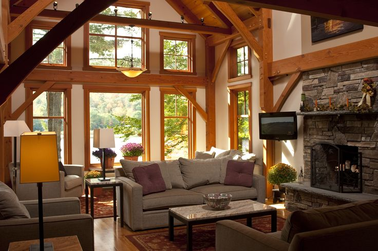 log cabins interior pictures google search western on lake house interior color schemes id=66269