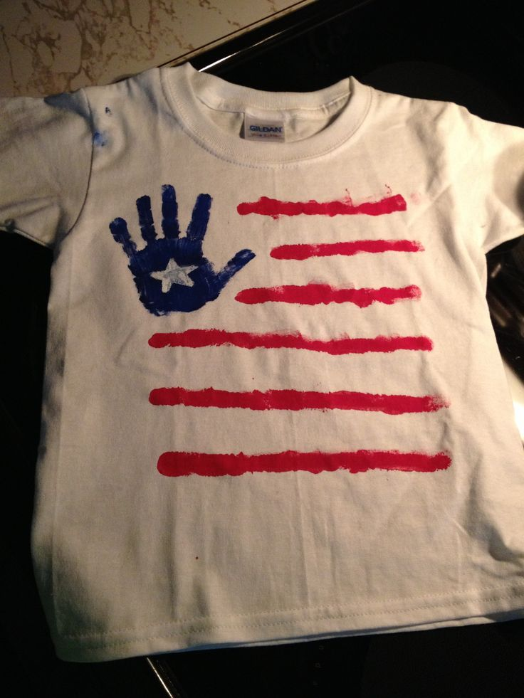 Craft Paint White T Shirt And A Toddlers Help DIY