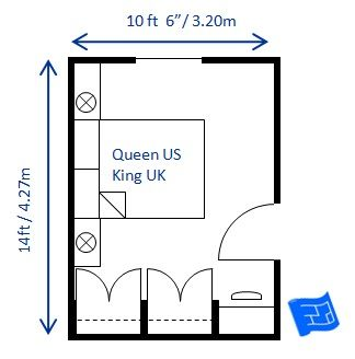 Very Helpful Link Describes Minimum Bedroom Sizes With Layout Examples
