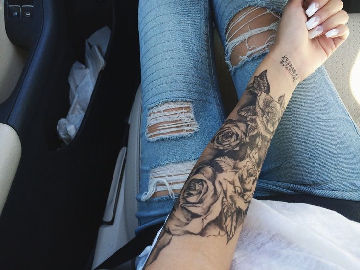 Serious about getting a sleeve… @Katherine Morin