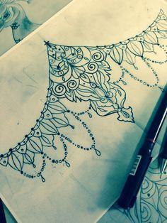 underboob lace sternum designs – Google Search