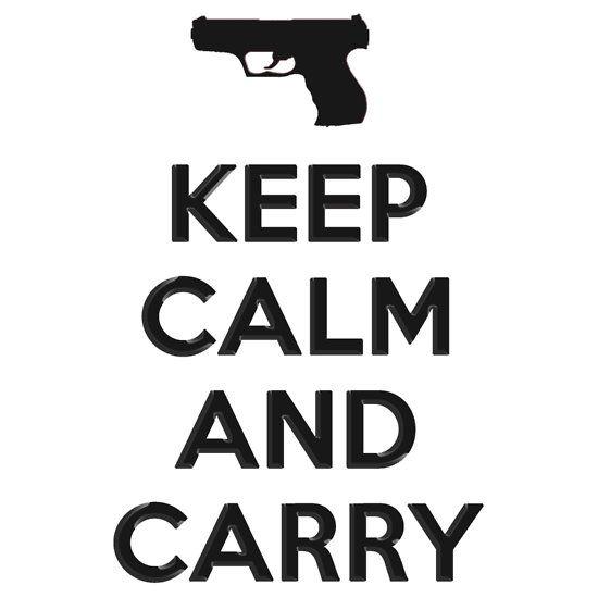 And Shoot Calm Glock Keep