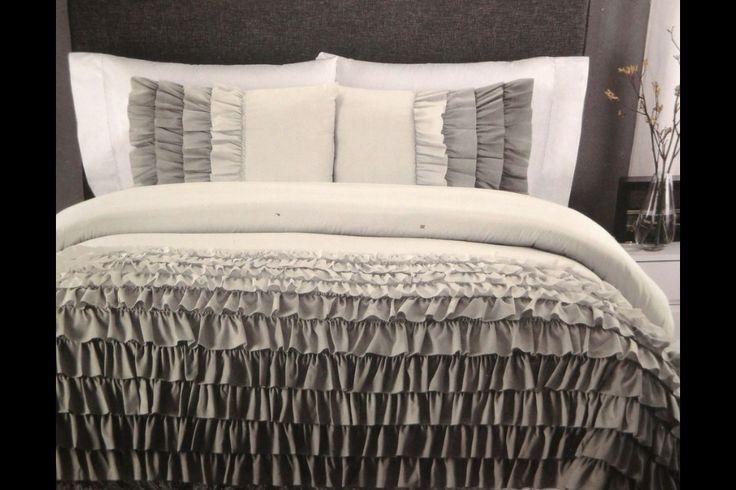 Cynthia Rowley Shades Of Grey Ombre Ruffle Ruffles Full