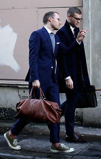 コンバースジャックパーセル&スーツ