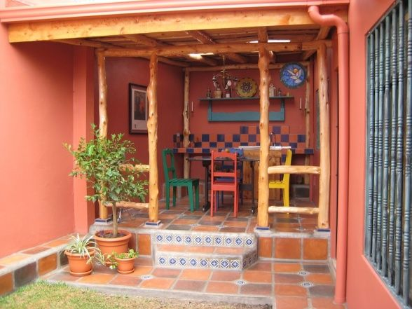 10+ images about Mexican patio on Pinterest | San miguel ... on Mexican Patio Ideas  id=90439