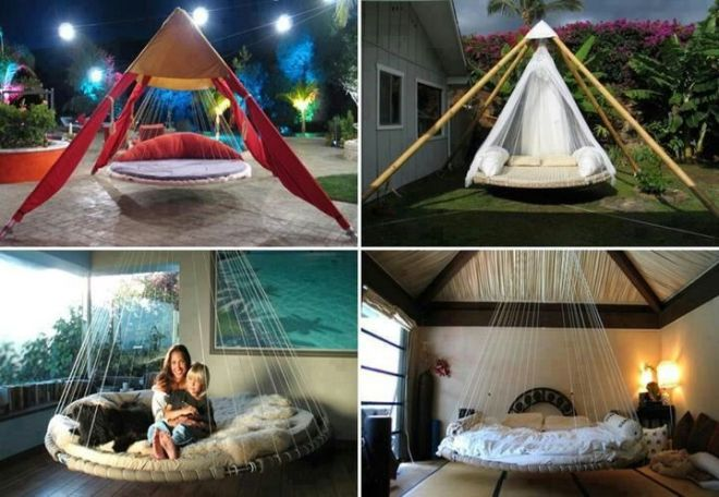 Cool trampoline beds small bedrooms pinterest