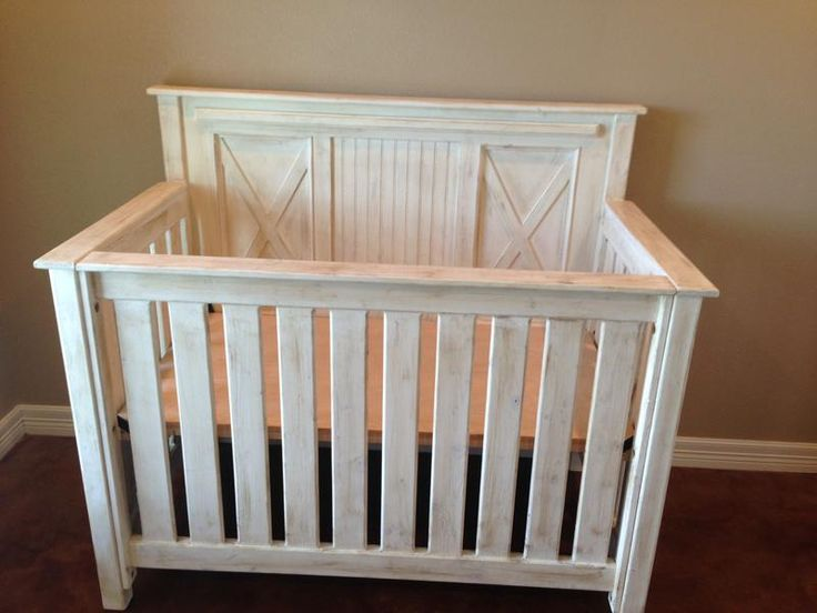 The Rustic Acre Custom Built Rustic Baby Bed X And Bead