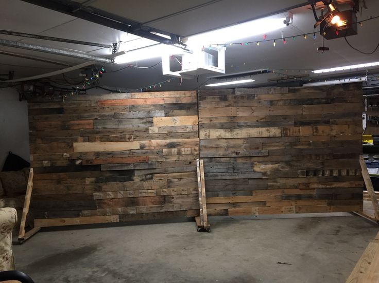 Portable Pallet Wall For Church Backdrop! DIY!