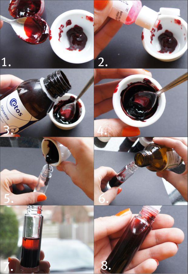 DIY Lip Amp Cheek Stain Distilled Water Rosewater Optional