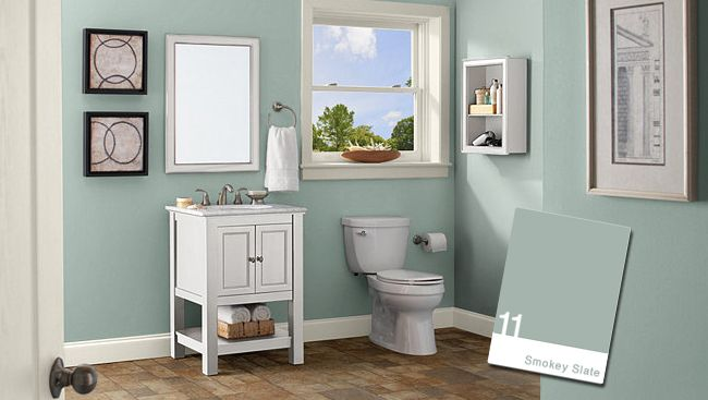 behr smokey slate bathroom for the home pinterest on home depot wall paint colors id=32009