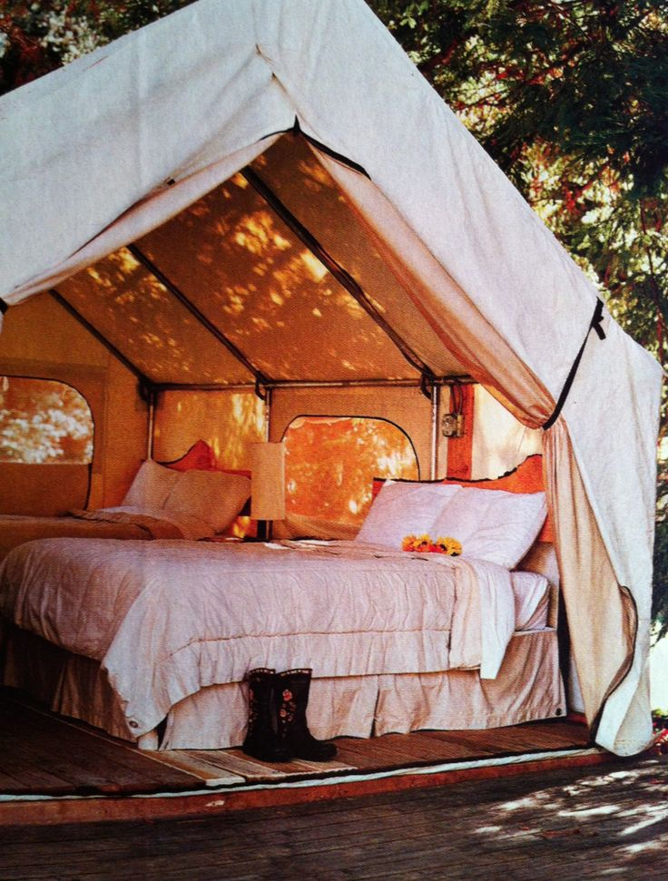 294 best images about Real Glamping on Pinterest | Montana ... on Fancy Outdoor Living id=85427