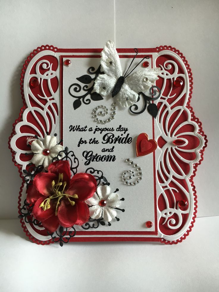 Wedding Card I Made For A Friend 6182016 Used