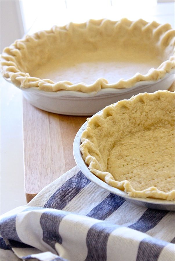 Never Fail Pie Crust Recipe