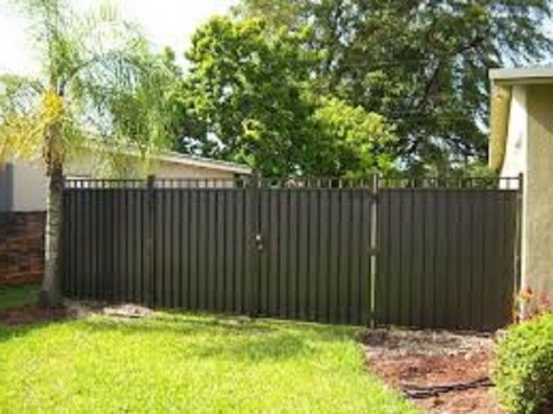 Inexpensive Privacy Fence Ideas: Inexpensive Aluminum