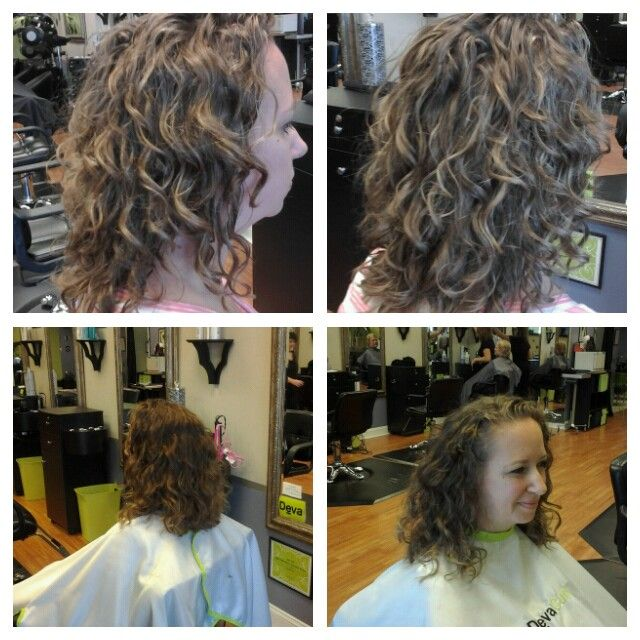 Before And After Deva Cut And Pintura Highlight Pintura