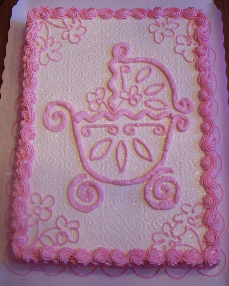 286 Best Images About Cakes Baby Shower Cakes On