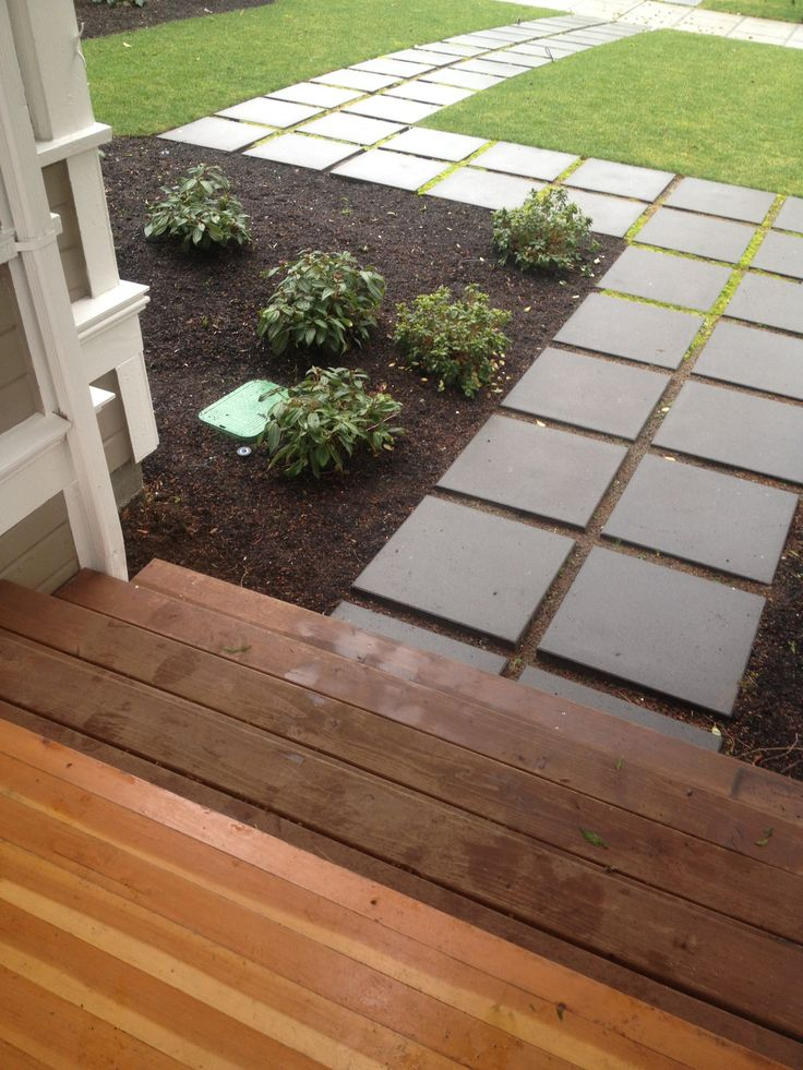 17 Best images about Our Front Yard : ideas on Pinterest ... on Concrete Front Yard Ideas id=77501