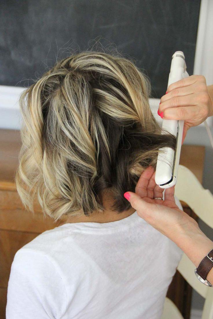 25 Best Ideas About Flat Iron Curls On Pinterest Flat