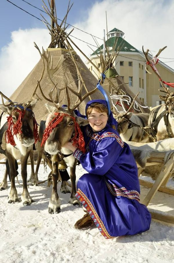Khanty woman, Khanty Mansia, Northwest Siberia The Khants ...