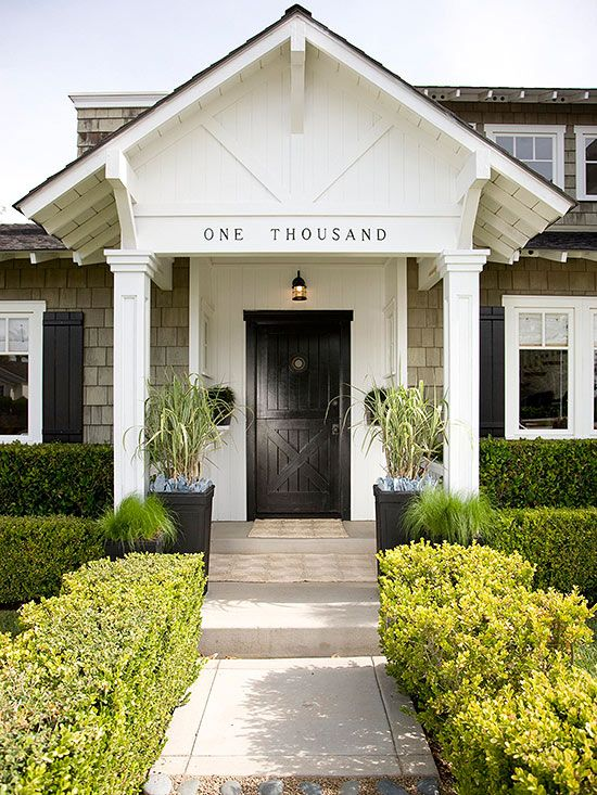 Make the Entry a Focal Point: