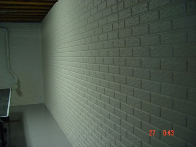 painted basement wall poured concrete with brick pattern on concrete basement wall paint colors id=87393