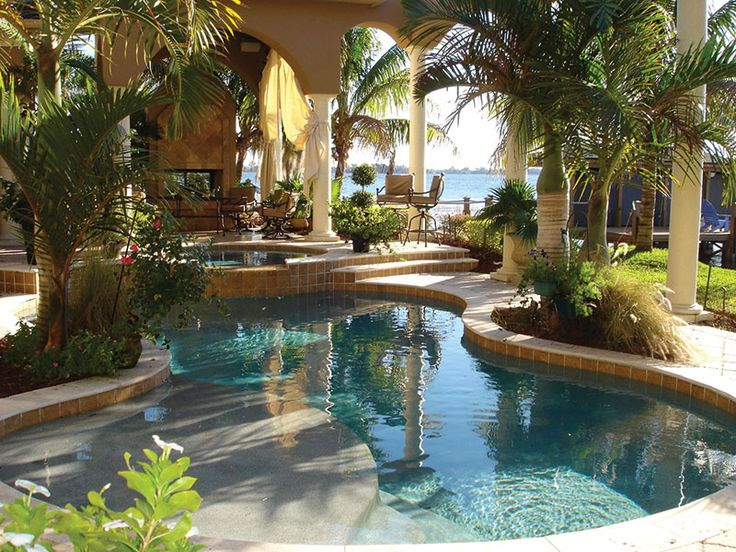 25+ Best Ideas About Tropical Pool On Pinterest