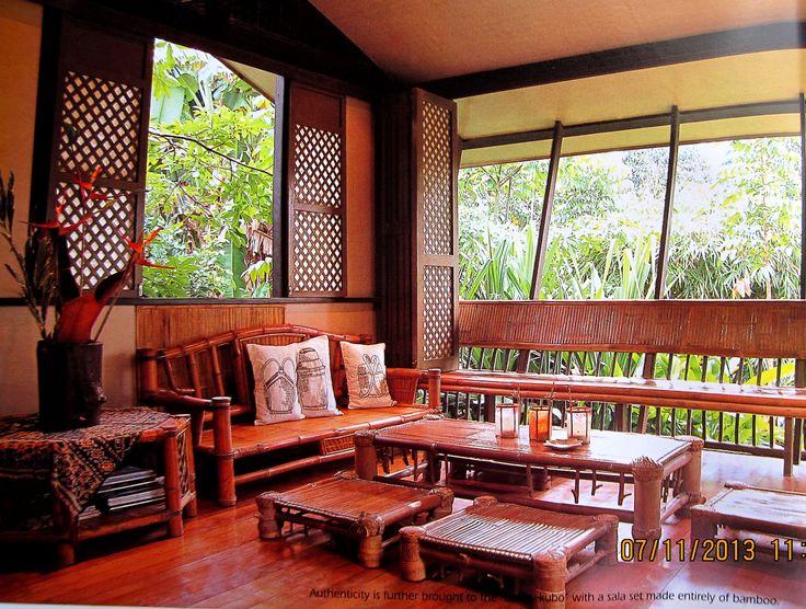 Filipino House Interior Bahay Kubo Pamp House