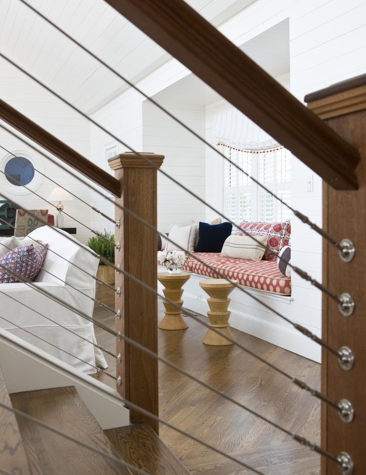 Cable Railing Indoor Staircase Interior Decor Cable | Cable Stair Railing Diy