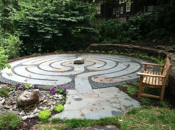 labyrinth flower garden designs Garden- A Labyrinth Becomes a Pathway to Healing | Garden