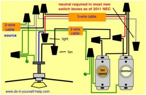 wiring diagram fanlight, source at the fixture