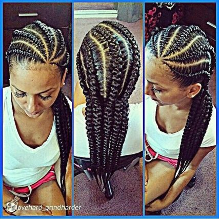 Image result for 6 types of cornrows