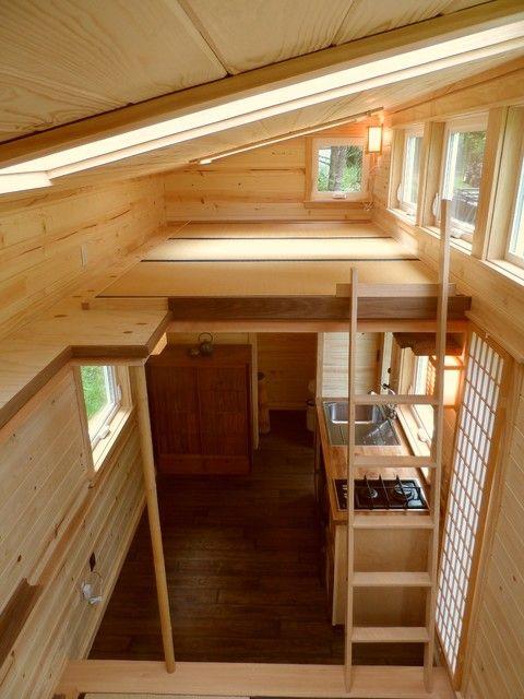 Stunning Wooden Mini Houses On Wheels Simple Interior