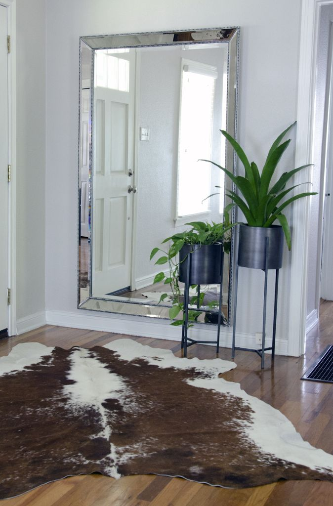 Mirror By Restoration Hardware Furniture Pinterest Entry Hallway A Cow And Entry Ways
