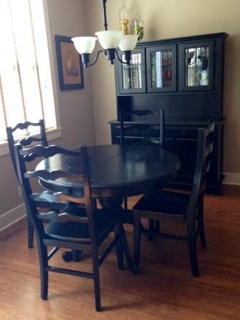 Dining Set Purchased At World Market Includes Black