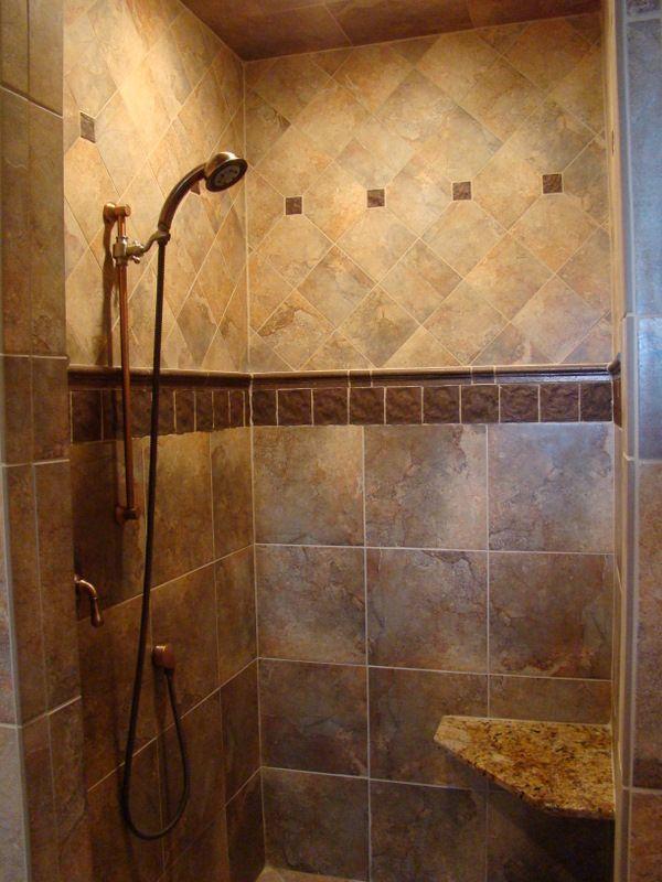 Doorless Shower Designs | Doorless Shower Design Ideas ...