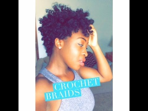 Tapered Crochet Braids Using Curlkalon Hair Collection