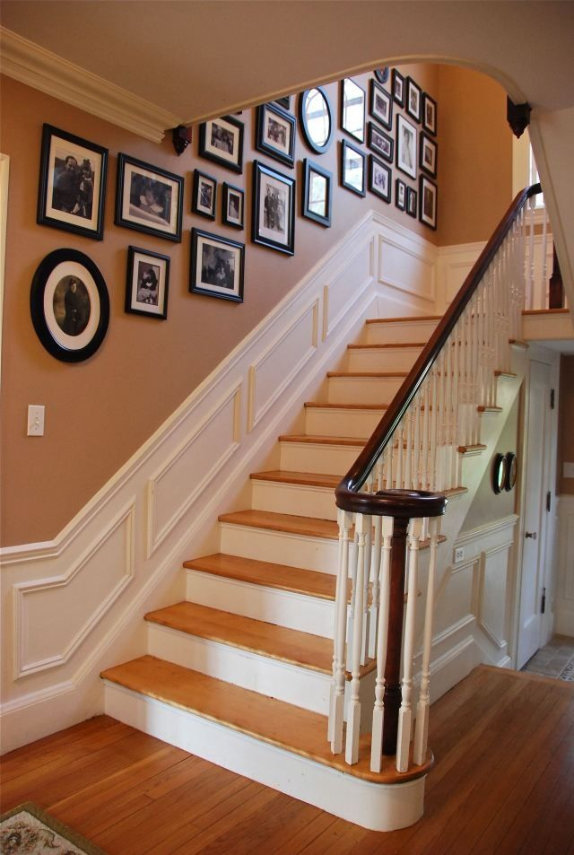 1000 images about stairway wall decorating ideas on on wall decorations id=22348