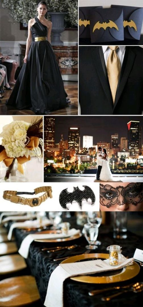 Batboda: celebración al estilo Batman : bodas temáticas :: CanalBoda :::