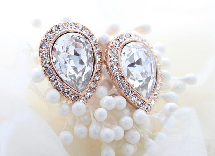 innocent crystal tiny stud earring