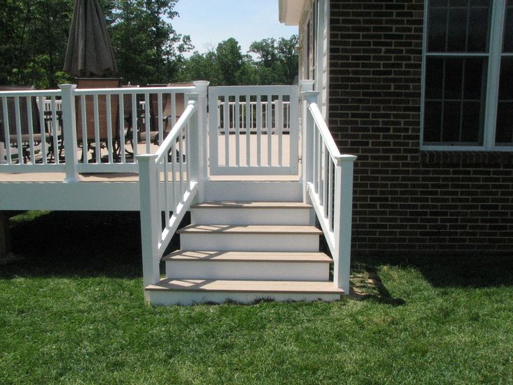 how to install a deck gate