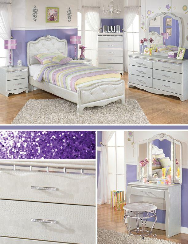 ashley furniture bedroom sets for girls