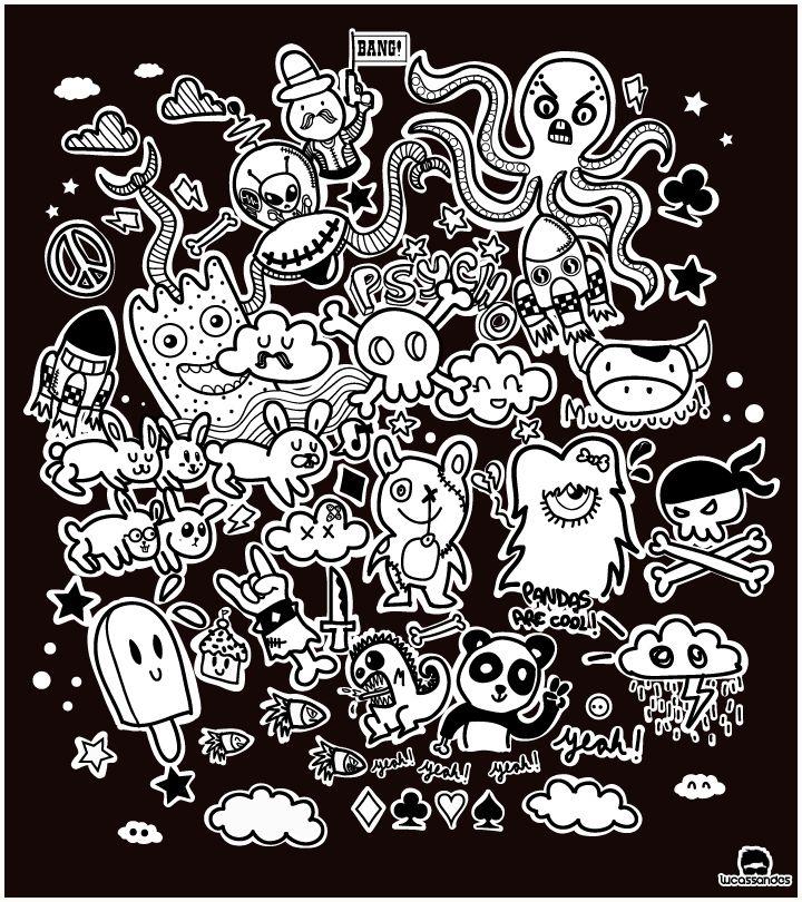 Best 25 Doodle Monster Ideas On Pinterest