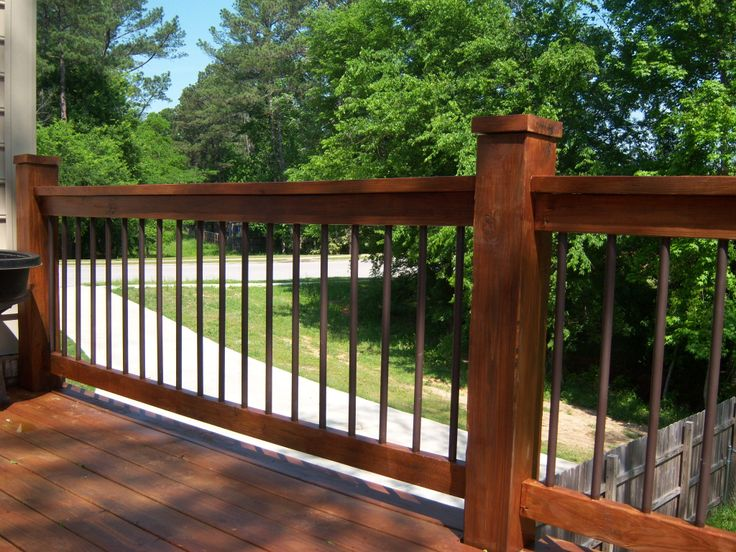 Pvc Deck Spindles Something I Come Up With Once I Quoted
