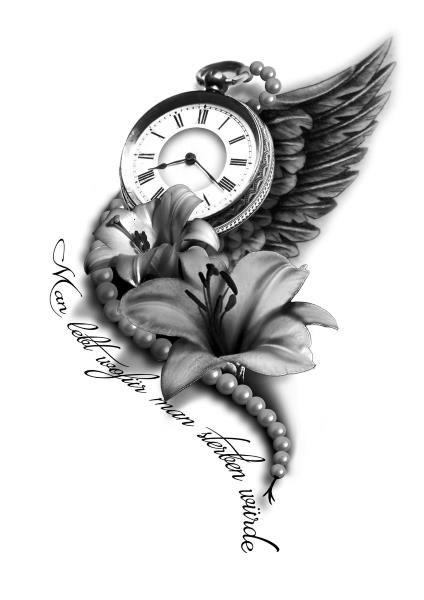 PapiRouge – Tattoo Zeichnungen