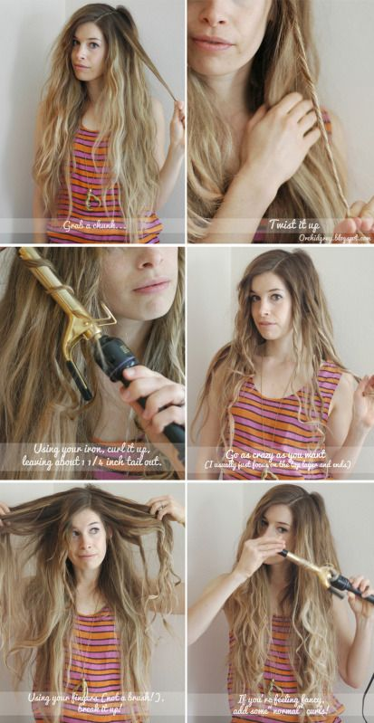 Hair Do How To 6 Beachy Waves 20 So Much Better Than