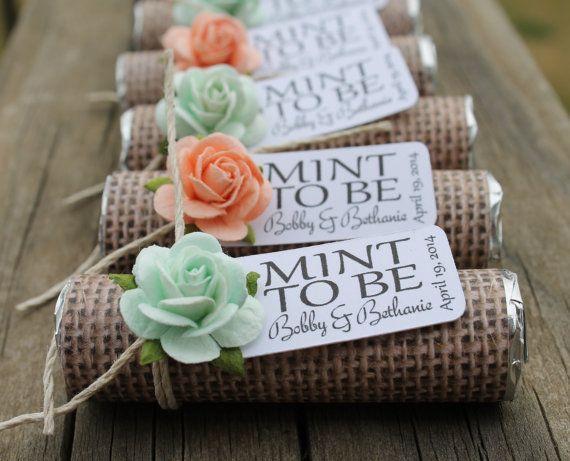 1000+ Ideas About Burlap Wedding Favors On Pinterest