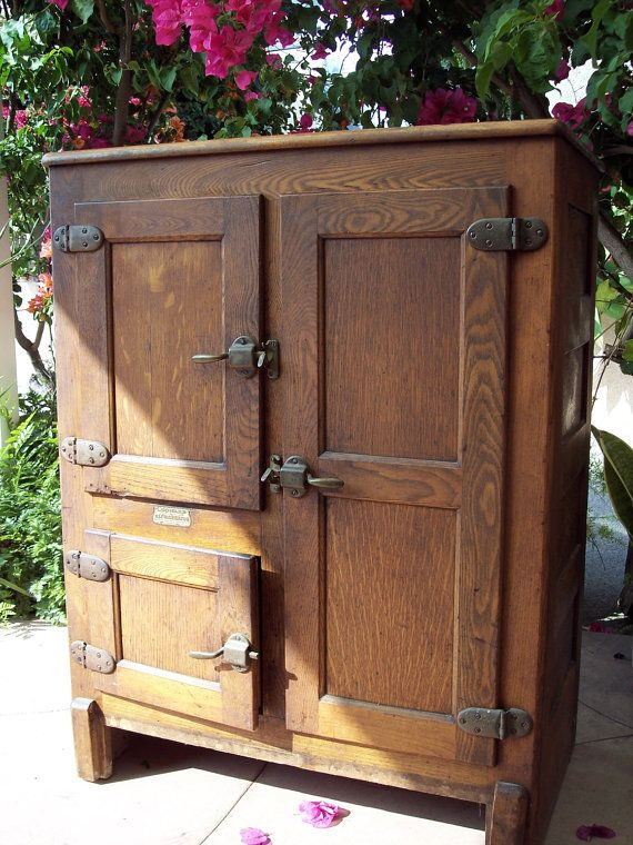 75 Best Images About Vintage Old And Renewed Iceboxes On Pinterest