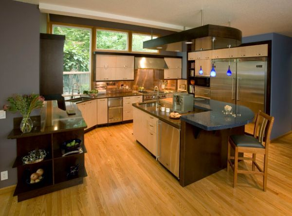 241 best ultra modern kitchen islands and carts designs for all types of kitchens styles images on kitchen island ideas kitchen bar carts id=76590
